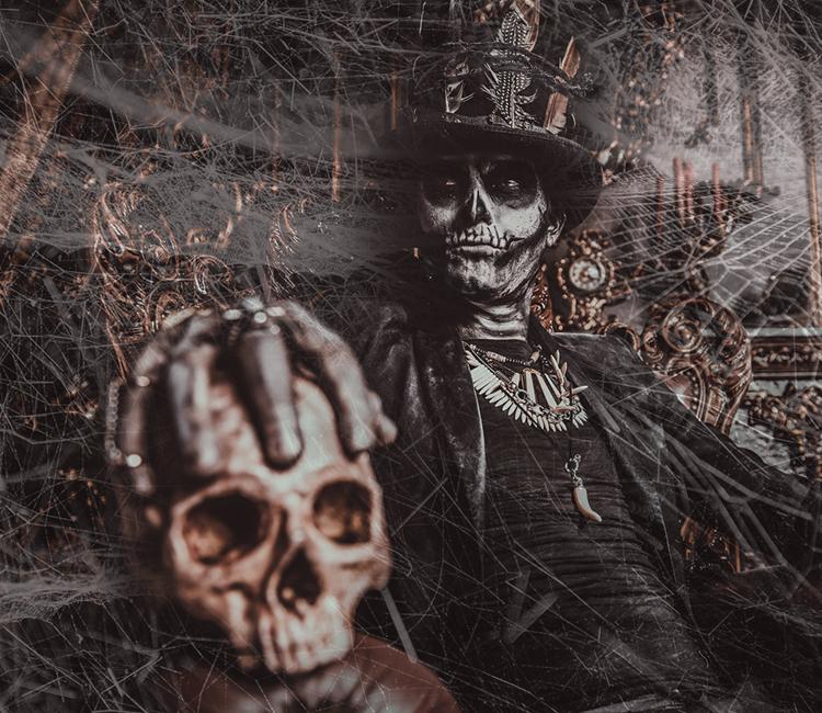 Kryolan Totenkopf